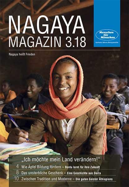 Nagaya Magazin Cover 3 2018 von Menschen für Menschen