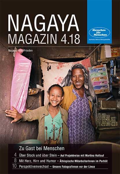 Nagaya Magazin Cover 4 2018 von Menschen für Menschen