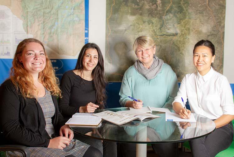 Spenderbetreuerinnen Menschen für Menschen
