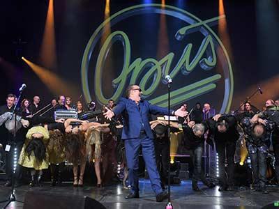 Opus beim Benefizkonzert in Graz zu Gunsten von Menschen für Menschen