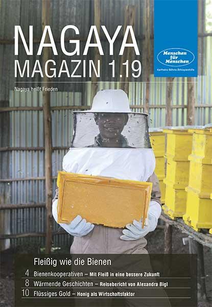 Nagaya Magazin Cover 1 2019 von Menschen für Menschen