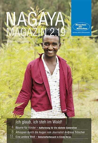 Nagaya Magazin Cover 2 2019 von Menschen für Menschen