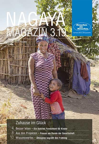 Nagaya Magazin Cover 3 2019 von Menschen für Menschen