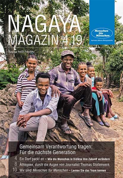Nagaya Magazin Cover 4 2019 von Menschen für Menschen