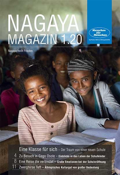 Nagaya Magazin Cover 1 2020 von Menschen für Menschen