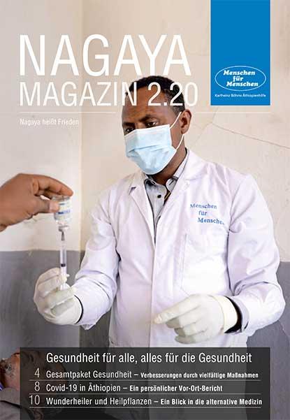 Nagaya Magazin Cover 2 2020 von Menschen für Menschen