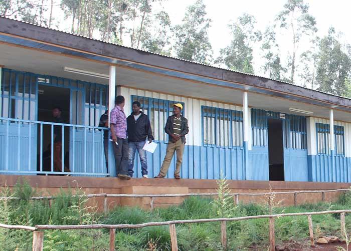 Projektbüro von Menschen für Menschen in Ginde Beret