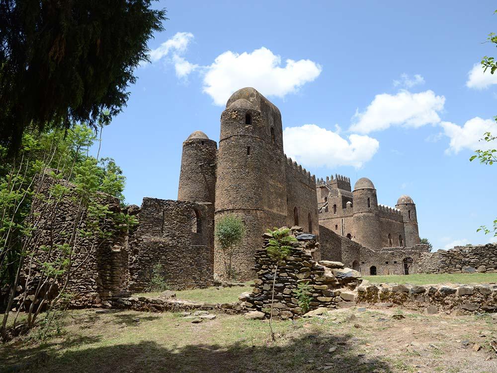 Kaiserstadt Gondar in Äthiopien
