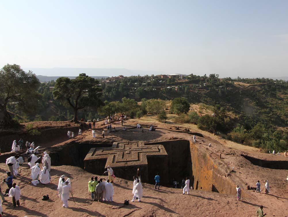 Lalibela in Äthiopien