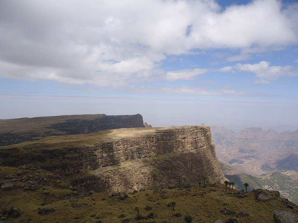 Simien Berge in Äthiopien
